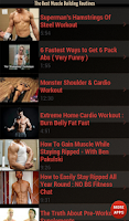 Screenshot of Best Muscle Building Routines