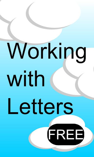 Working With Letters Free