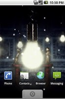 Screenshot of Fireflies Live Wallpaper Free