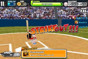 Screenshot of Flick Baseball