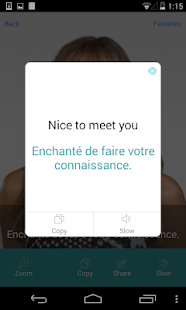 French Translation with Video - screenshot