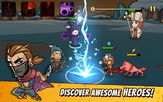 Screenshot of Pocket Heroes