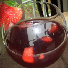 Cranberry and Strawberry Sangria