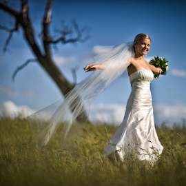 by Lindsay James - Wedding Bride ( wedding, bride, pretty, women, portrait )