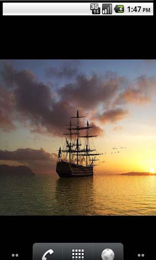 Ship Amazing Live Wallpaper