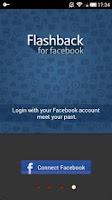 Screenshot of Flashback For Facebook