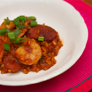 Brown Rice Jambalaya