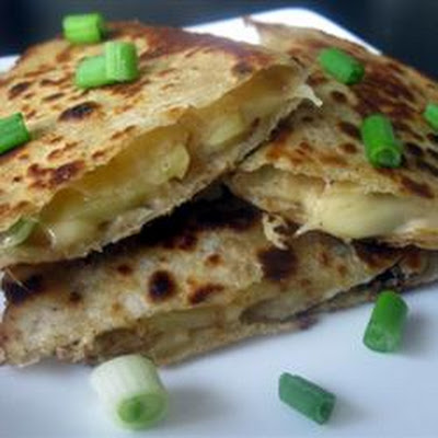 Apple Gouda Quesadillas