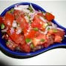Low Fat Spicy Tomatoes Salad (Kosher-Pareve)