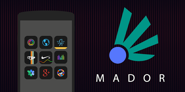 Mador - Icon Pack- screenshot thumbnail