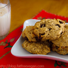 Lower-Fat Peanut Butter Banana Cookies
