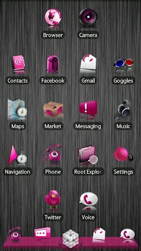 Pink ADW Theme