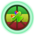 GO Launcher EX Тема PeaceSign icon