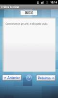 Screenshot of Frases de Deus