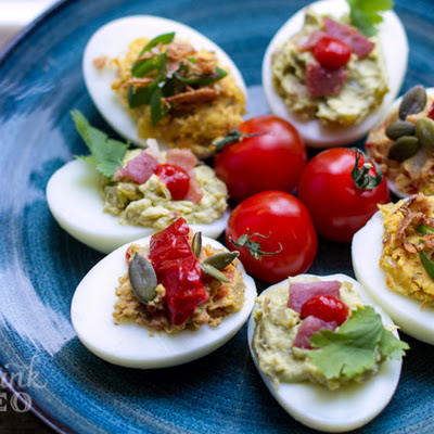 Paleo Devilled Eggs – Three Ways