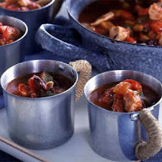 Chilli Chicken Cauldrons (Halloween)