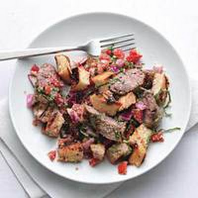 Panzanella-and-Sausage Salad