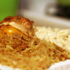 Easy Layered Chicken Bake