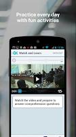 Screenshot of Learn English - Voxy