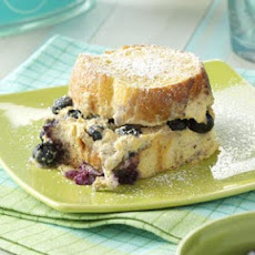 Baked Blueberry French Toast