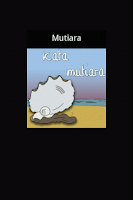 Screenshot of Kata Mutiara