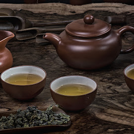Chinese Tea by Max Bowen - Food & Drink Alcohol & Drinks