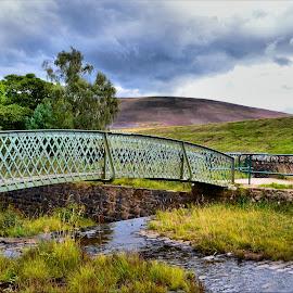 Theirpmur resevoir by Nic Scott - Buildings & Architecture Bridges & Suspended Structures ( reservoir, nature, bridge )