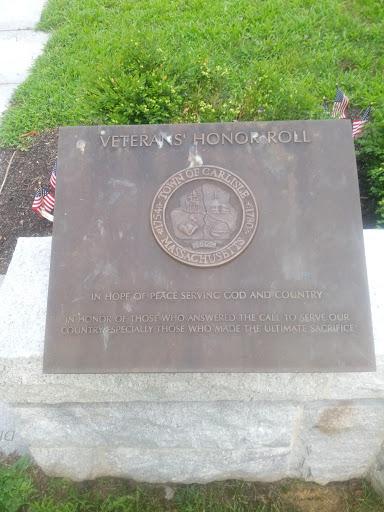 Carlisle Veteran's Honor Roll