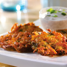 Latkes with Sour Cream-Mushroom Sauce