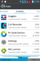 Screenshot of Call Record mp3