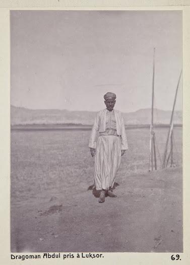 En dragoman var en guide och fixare utan vilken en europeisk turist stod sig slätt i Egypten.