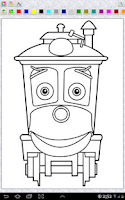 Screenshot of Chuggington Coloring Pages