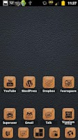 Screenshot of Burnt Leather ADW Theme
