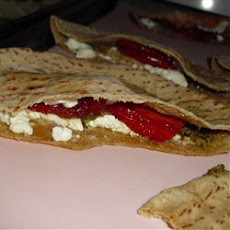 Warm Goat Cheese Sandwiches