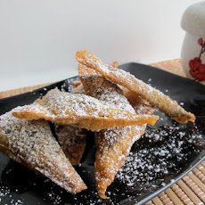 Crunchy Fried Chocolate Wontons