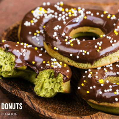 Green Tea Donuts