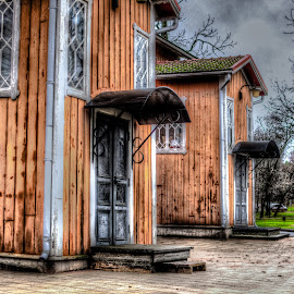 In Line by Bojan Bilas - Buildings & Architecture Other Exteriors ( building, naantali, exterior, finland, architecture )