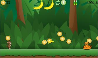 Screenshot of Ricky Monkey Runner Free
