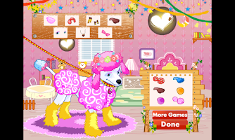 Screenshot of Fashion Dress Up! Cute Puppy!
