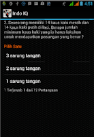 Screenshot of Indo IQ
