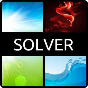 Solver for 4 pics 1 word????