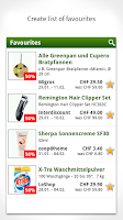 Screenshot of Smartshopper Switzerland