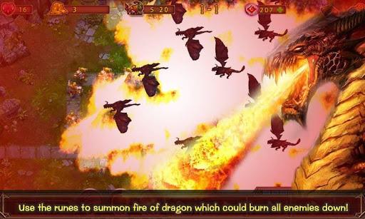 Epic Defense - Fire of Dragon - screenshot
