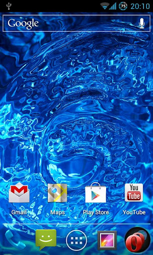Rippling Images Live Wallpaper