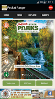 Screenshot of SD State Parks Guide