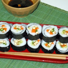 Vegan Sushi- Low Calorie