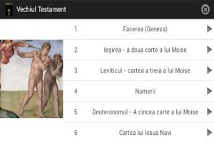 Screenshot of Biblia ortodoxa