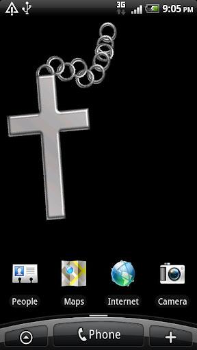 銀の十字架