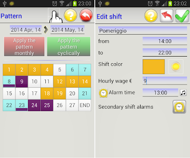 WorkShift Agenda- screenshot thumbnail