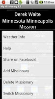 Screenshot of My Missionary